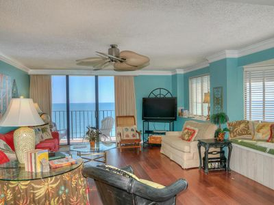 Photo for Spinnaker 905 Spacious 4 Bedroom Penthouse Unit With Oceanfront Balcony