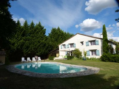 Photo for Beautiful 2 Bedroom, With En-Suite, Gite, Close To Duras, With Stunning Views