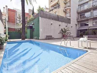 Photo for Duplex in the Center of Barcelona with Pool