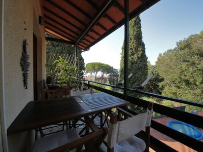 Photo for Apartment by the sea surrounded by greenery -A stay in the land of the Macchiaioli