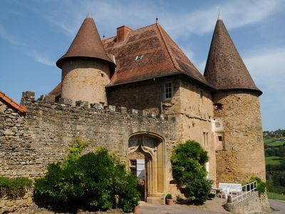 Photo for Château de Barnay - Southern Burgundy - 7 pers - Authenticity, Charm and Comfort