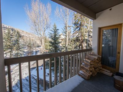 Photo for The Perfect High Mountain Hideaway Right In Beaver Creek Village.