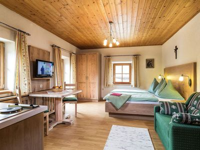 Photo for Double room with shower, WC, balcony, online - BIO-Bauernhof Stubnerbauer