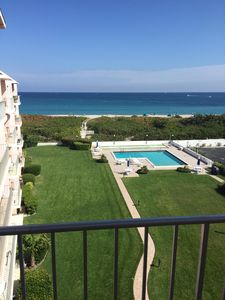 Photo for OCEANFRONT with inlet views, heated pool and full kitchen. 2 bed/1 bathroom