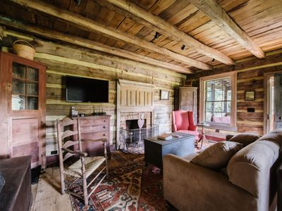Emily's Cabin | Beautifully Restored 1827 Cabin on 85 acres | Lake Access