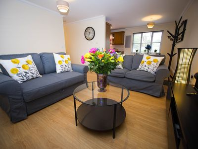 Photo for Your MK home - Free wifi, Free Private Secure Carpark, close to MK Bowl, Furzton