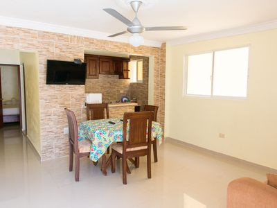 Photo for Beautiful One Bedroom Apartment close to Megacentro