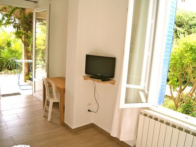 Photo for Studio and Two room apt, with garden, close to the sea