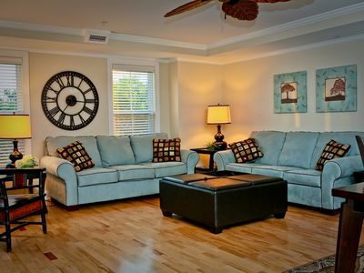 Photo for spacious 3 b/2 b condo with pool, sleeps 8- 10/ just steps to beach