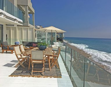 Photo for Beautiful Luxury Malibu Beach Front Property!!
