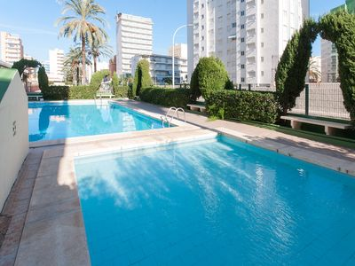 Photo for ARIADNA - Apartment with shared pool in Playa de Gandia.