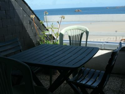 Photo for panoramic sea view 180% two balconies view of the seven islands 2 * WIFI