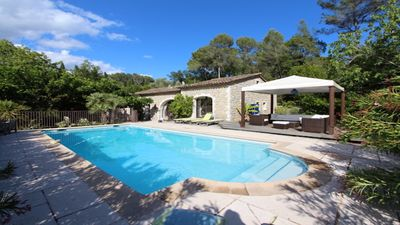 Photo for Luxurious Stone Villa in quiet location - Mougins