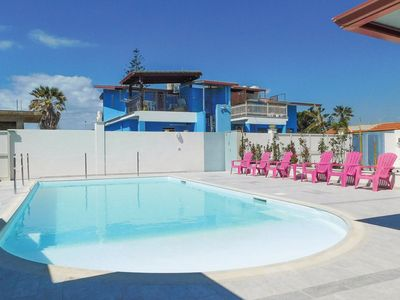 Photo for Pleasant Holiday Home in Santa maria del focallo with Pool