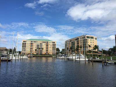 Photo for Burnt Store Marina- Harbor Towers,  2BR, Gulf View, Pool & Marina, Screen Lanai