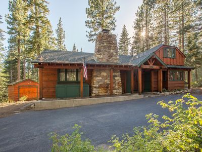 Photo for Ward Creek - Cute and Cozy Old Tahoe Cabin on Ward Creek