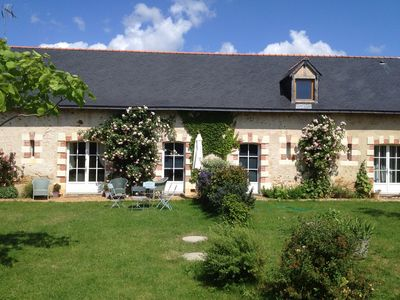 Photo for 2BR Cottage Vacation Rental in Cheffes, Pays De La Loire