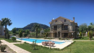 Photo for Spacious 3 Bedroom Duplex Apartment With Shared Pool And Mountain Views