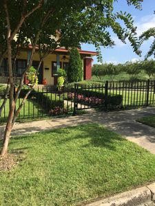 We just added  a new fence this is the most recent picture taken Oct '18