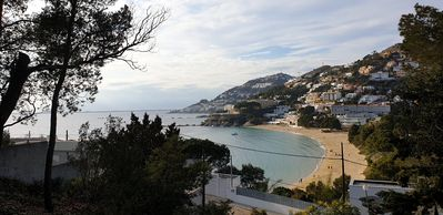 Photo for Sunny villa with magnificent sea views.  2 minutes from the beach
