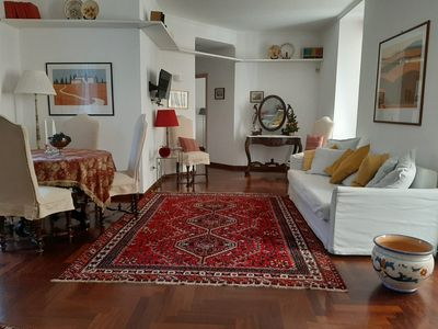 Photo for In the heart of historic Naples, Pizzofalcone 41b Holiday House, 90 square meters