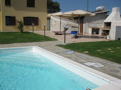 Photo for VILLA WITH POOL A FEW KM FROM THE SEA