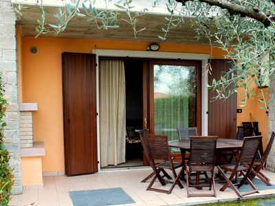 Photo for Great and colourful apartment at only 700m from Bardolino