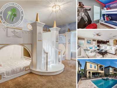 Photo for Happily Ever After   6 Bed Villa with a South-West Facing Pool, Game Room