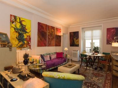 Photo for ****Charming Artsy Spacious 1 Br Apt - Invalides / Eiffel Tower