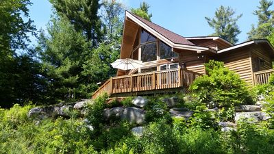 Photo for Beautiful New Lindal Cedar Home Lake View Home Near Jiminy Peak and Tanglewood
