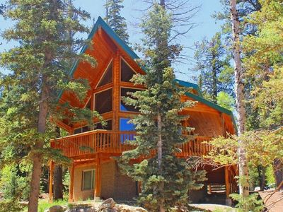 Photo for Luxury 3 Story Log Home-Pet Friendly with WiFi Close To Zion, Bryce & Brian Head