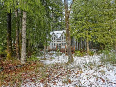 Photo for Lovely riverfront home, close to skiing, fishing & more!