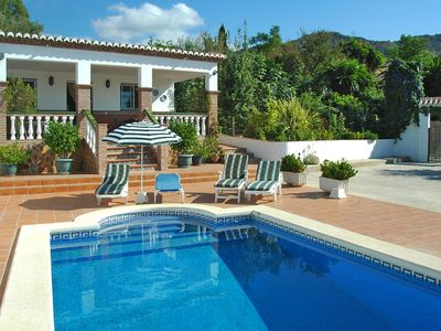Photo for Enjoy the countryside of Nerja at this comfortable villa