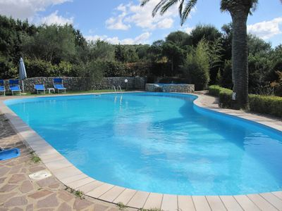 Photo for Villa Donzell, 14m private pool and Jacuzzi, Large Garden, Kids Play Area