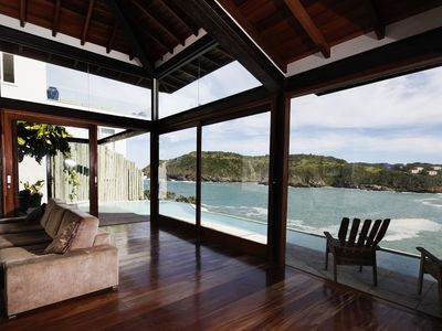Photo for Buz003 - Luxury villa with pool and ocean view in Búzios
