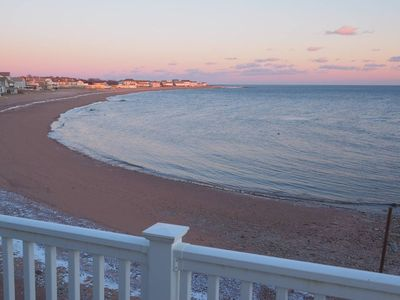 Photo for Beachfront Retreat Yale New Haven