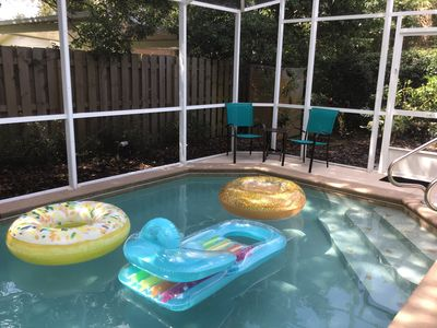 Photo for Cozy Edgewater Home, Heated Pool And Private Yard