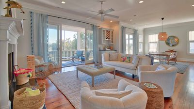 Photo for Short walk to the beach from this 7 Bedroom 6 Bath Charmer