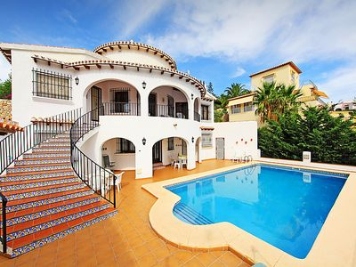 Photo for 5 bedroom Villa, sleeps 10 in Molinell with Pool and WiFi