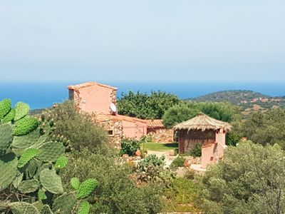Photo for villa on entu immersed in the maquis and a wide view of the sea