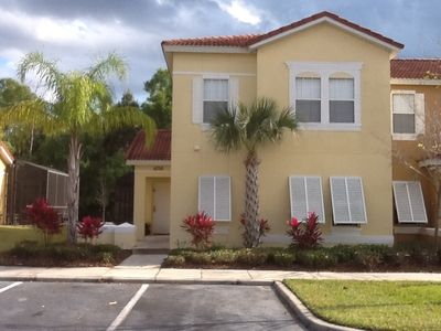 Photo for Private pool Townhome close to all attractions in gated resort community.