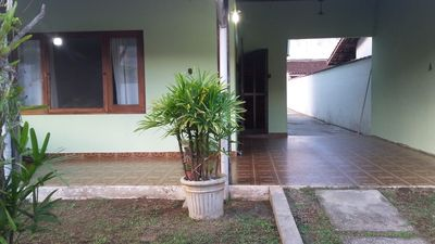 Photo for UBATUBA, HOUSE FOR 7 PEOPLE, 2 BEDROOMS, CABLE TV, AIR CONDITIONING, 2 ROOMS GARAGE