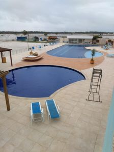 Photo for apartment with private beach, air conditioned wi fi and sky