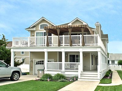 Photo for Enjoy your summer vacation in this lovely, new contemporary, 6 bedroom, 5 bath home