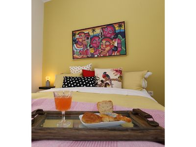 Photo for 1BR Apartment Vacation Rental in Pireas