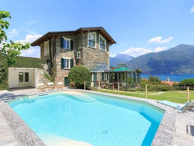 Photo for Comfortable home with pool and lake views!