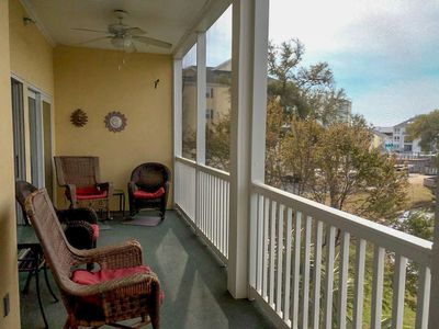 Photo for SUMMER DEALS!  Ocean Keyes. Gated community. 3 bedroom, 2 bath condo. Sleeps 10. Walking distance to beach. Great amenities. Golf cart allowed. No pets, no motorcycles.