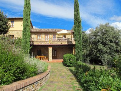 Photo for Apartment Tenuta Le Gallozzole (CTC177) in Castellina in Chianti - 4 persons, 2 bedrooms