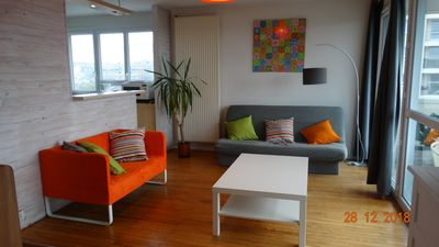 Photo for Very bright apartment of 75 m2 between university and CHU