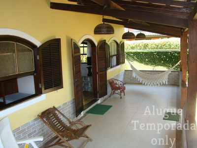 Photo for Ilha Grande house comfortable 3 bedroom 50m from the best beach spot of Abraham